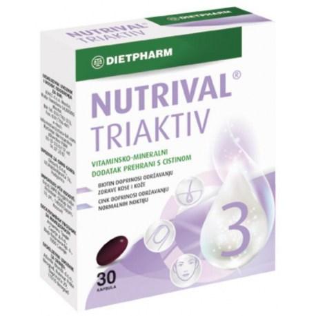 Nutrival Triaktiv kapsule za zdravu kosu i nokte