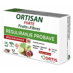 Ortisan Forte voćne kocke za regulaciju probave