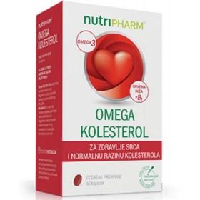Nutripharm Omega kolesterol 60 kom.