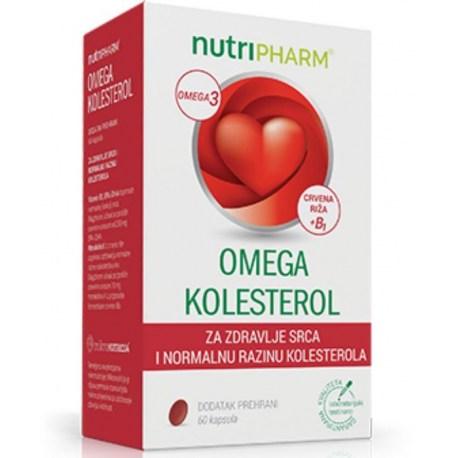 Nutripharm Omega kolesterol, 60 kom.