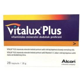 Vitalux Plus kapsule za očuvanje vida, 28 kom.
