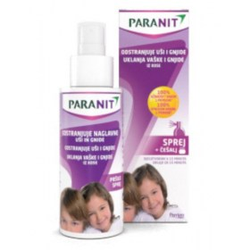 Paranit sprej za odstranjivanje uši i gnjida 100ml