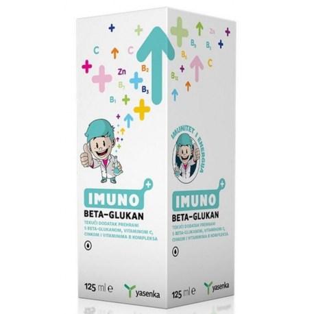Yasenka Imuno BETA GLUKAN tek. dodatak prehrani 125ml
