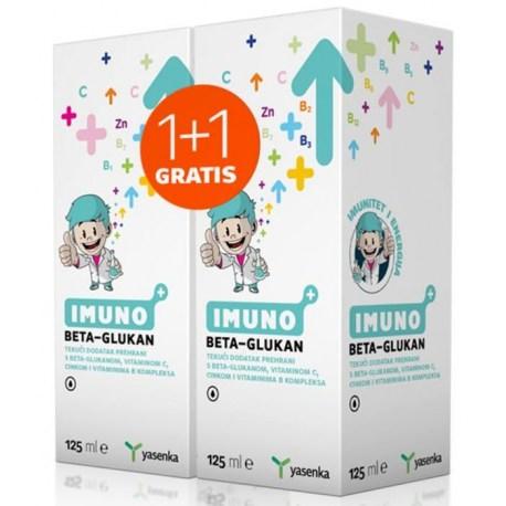 Yasenka imuno BC JUNIOR 125ml (1+1 GRATIS)