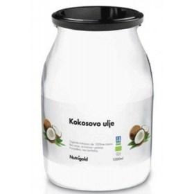 Kokosovo ulje bez mirisa Organsko 1000ml staklenka