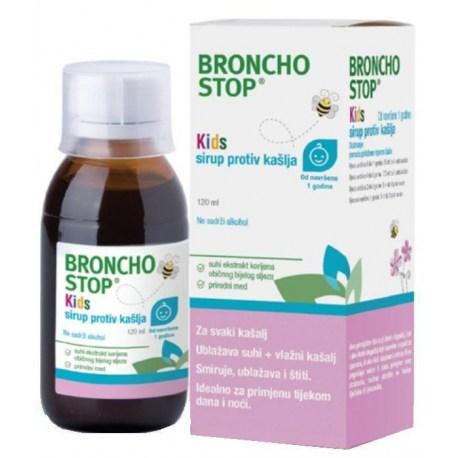 BronchoStop KIDS sirup protiv kašlja