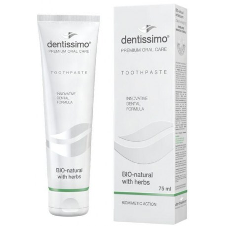 Dentissimo BIO-natural zubna pasta sa ljekovitim biljem 75ml