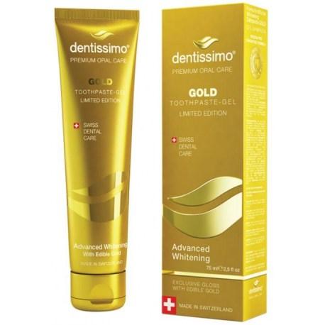 Dentissimo GOLD Advanced zubna gel-pasta za izbjeljivanje 75ml