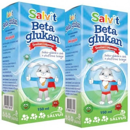 Salvit Beta Glukan 150ml 1+1 GRATIS