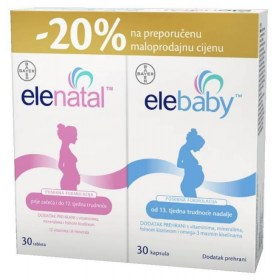 Elenatal + Elebaby kapsule PROMO pakiranje