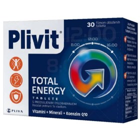 Plivit Total Energy 30 tableta