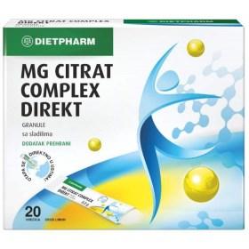 Dietpharm MG Citrat Complex DIREKT granule