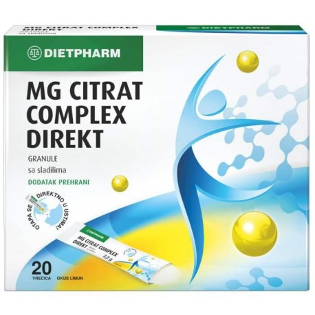 MG Citrat Complex DIREKT granule