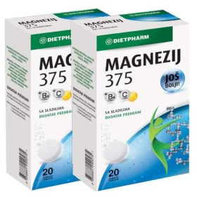 Dietpharm Magnesium 375mg Effervescent Tablet DUOPACK