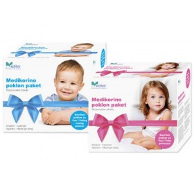 Medikorino dječji paket (toplomjer, Omron inhalator, hladni oblog i aspirator)