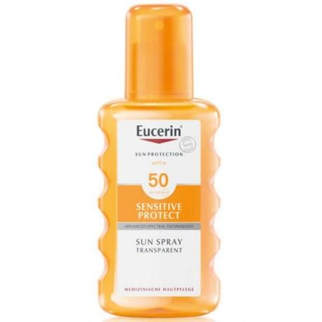 Eucerin Transparentni sprej za zaštitu od sunca SPF 50