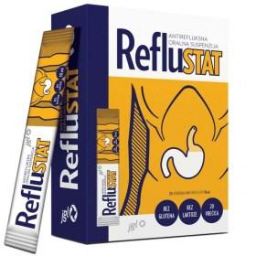 RefluSTAT against heartburn and gastric acid reflux
