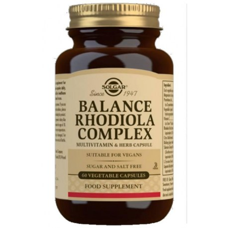 Solgar Balance RHODIOLA Complex kapsule pomažu kod stresa