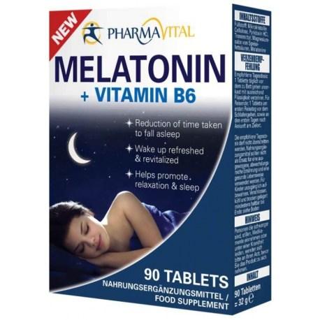 Melatonin + Vitamin B6 tablete