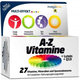 Vitamins A-Z + Lutein + Q10 tablets