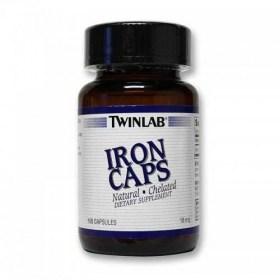 Twinlab Iron 18mg, 100 pcs.