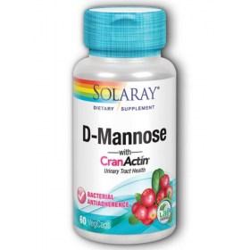 Solaray D-Manoza + CranActin capsules
