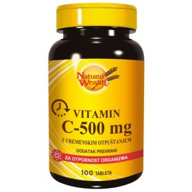 Natural Wealth C-500 mg with time release