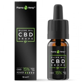 PharmaHemp CBD kapi 15% (1.500 mg)