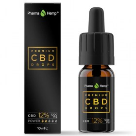 Premium Black CBD kapi 12% (1.200 mg)