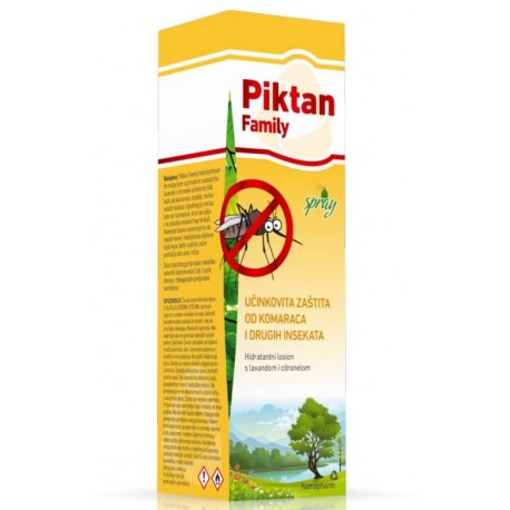 Piktan Family protiv uboda komaraca, krpelja, muha i insekata