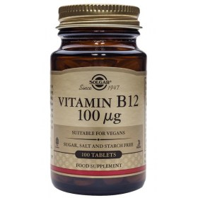 Solgar Vitamin B12 100mcg tablete