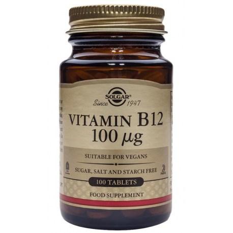 Solgar Vitamin B12 100mcg tablete