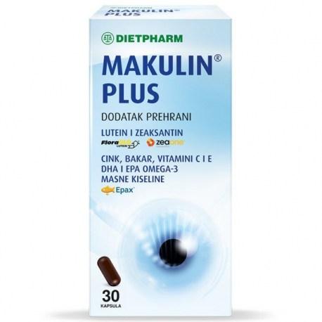 Dietpharm Makulin Plus kapsule, 30 kom.