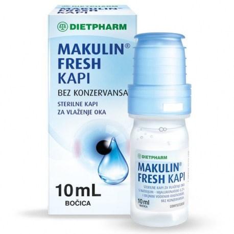 Makulin Fresh kapi za oči, 10ml