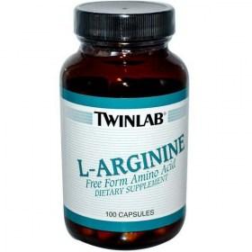 Twinlab L-Arginine 500mg, 100 pcs.