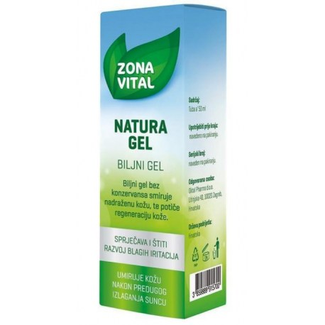 Natura gel za njegu nadražene kože, 50ml