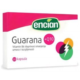 Encian Guarana+Q10 capsules