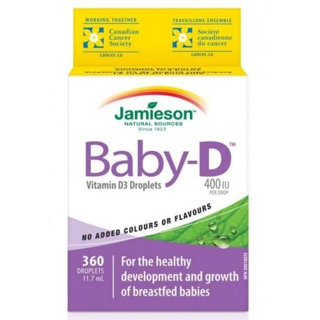 Jamieson Baby vitamin D kapi za djecu 11,7ml