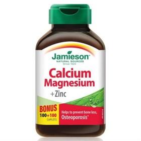Jamieson Calcium Magnesium Zinc 200 Tablets