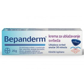 Bepanderm Itch reliever cream 20g