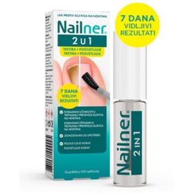 Nailner nail polish against nail fungus