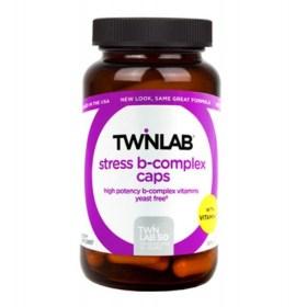 Twinlab Stress B capsule complex, 50 pcs.