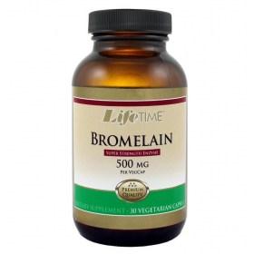 lifetime BROMELAIN capsules 30x500mg