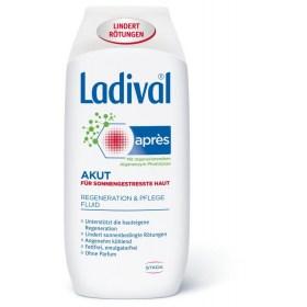 Ladival Akut Fluid after sunbathing