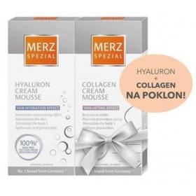 Merz Spezial Hyaluron cream mousse + POKLON Merz Spezial Collagen cream mousse