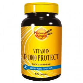 Natural Wealth Vitamin D 1000 Protect