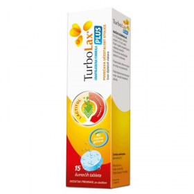 TurboLax Plus effervescent tablets help with constipation