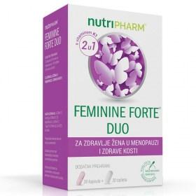 Nutripharm Feminine Forte DUO za žene u menopauzi 30+30 kapsula