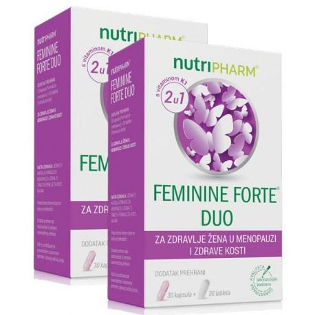 Nutripharm Feminine Forte DUO 1+1 GRATIS