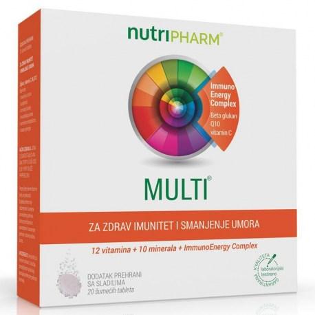 Nutripharm - multi tbl a 30